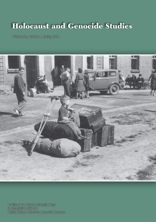 Between Expulsion and Rescue: The Transports for German-speaking Jews of Czechoslovakia in 1946